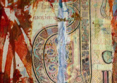 'Inspired By Lindisfarne' Detail